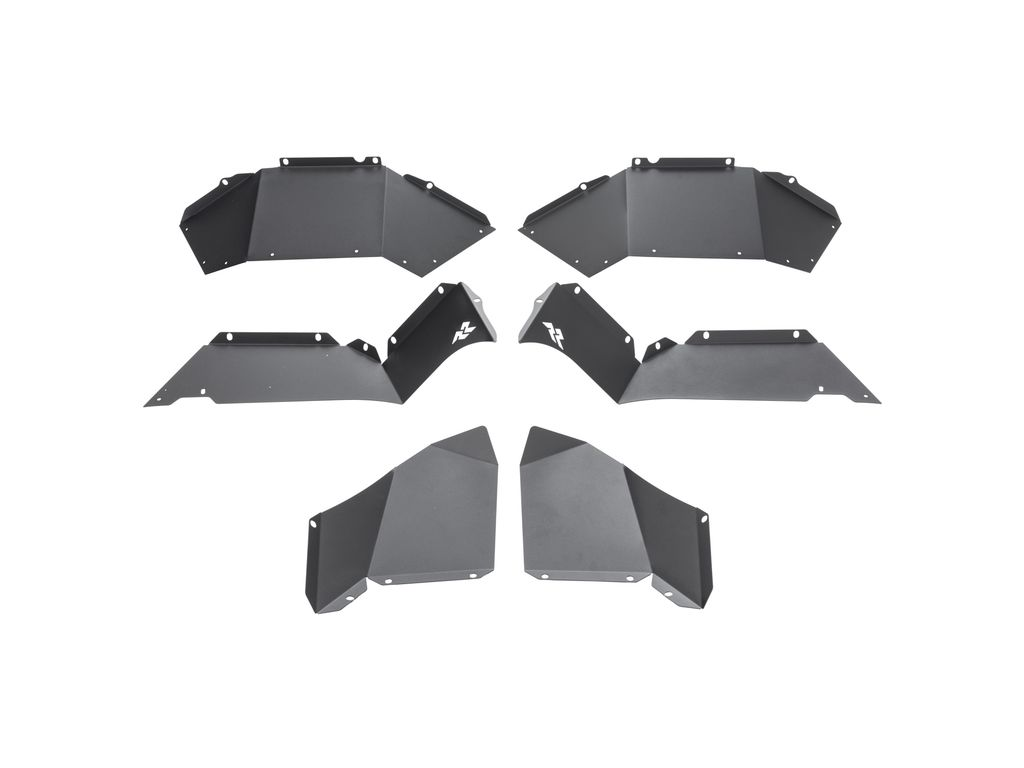 Rugged Ridge 11615.62 Inner Fender Liners For 07 - 21 Jeep Wrangler/Gladiator