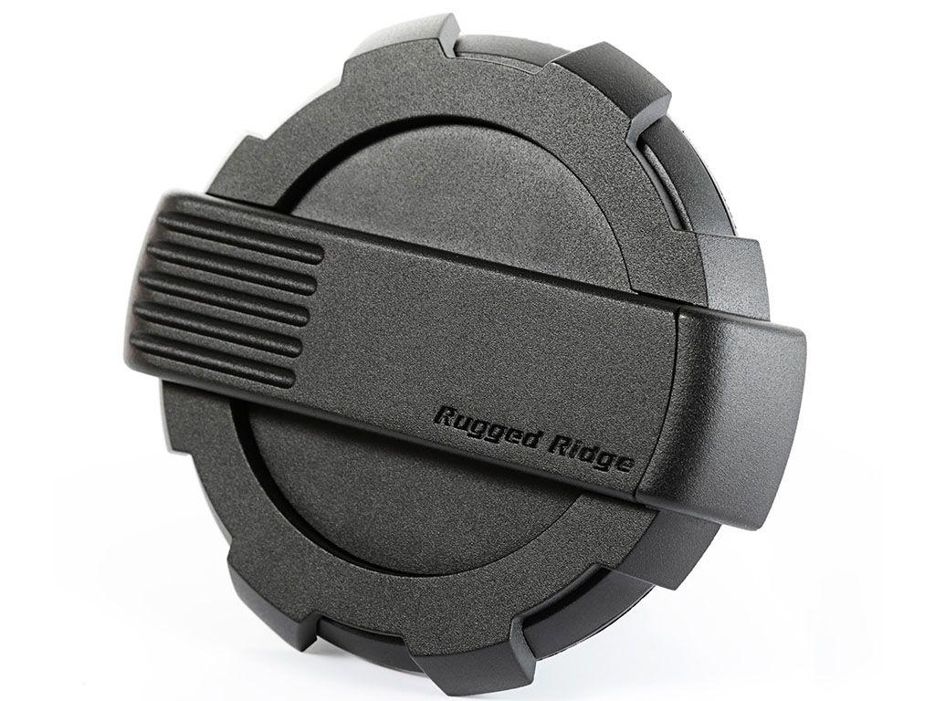 Rugged Ridge 11425.12 Elite Fuel Door For 2007-2018 Jeep Wrangler JK 2-Door