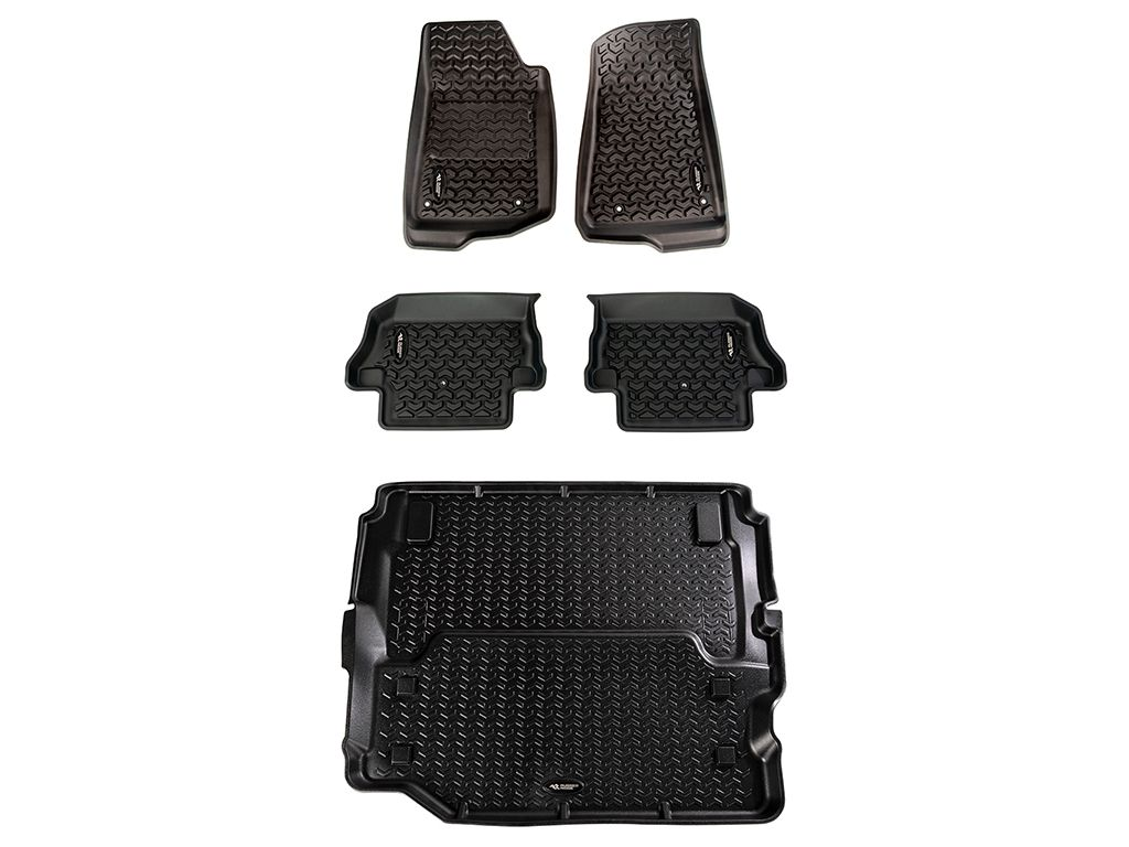 Rugged Ridge 12988.07 All-Terrain Floor Liners For 1976-2020 Jeep Models