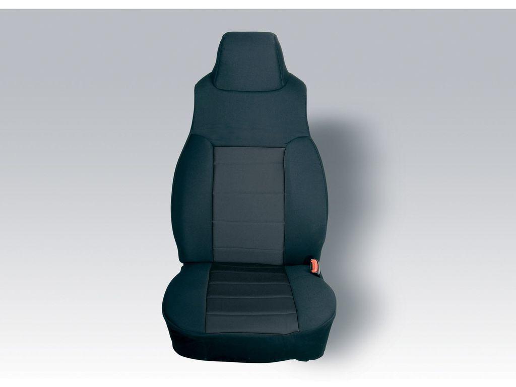 Rugged Ridge 13243.01 Fabric Seat Covers For 2003-2006 Jeep Wrangler TJ