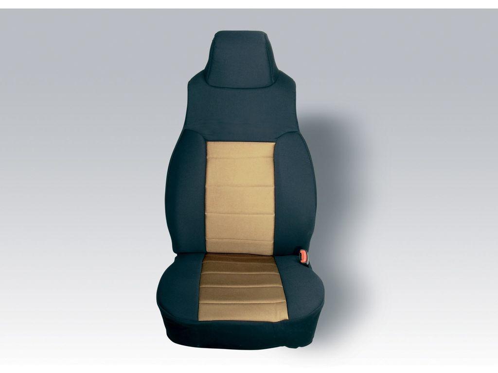 Rugged Ridge 13282.01 Fabric Seat Covers For 2004-2006 Jeep Wrangler LJ