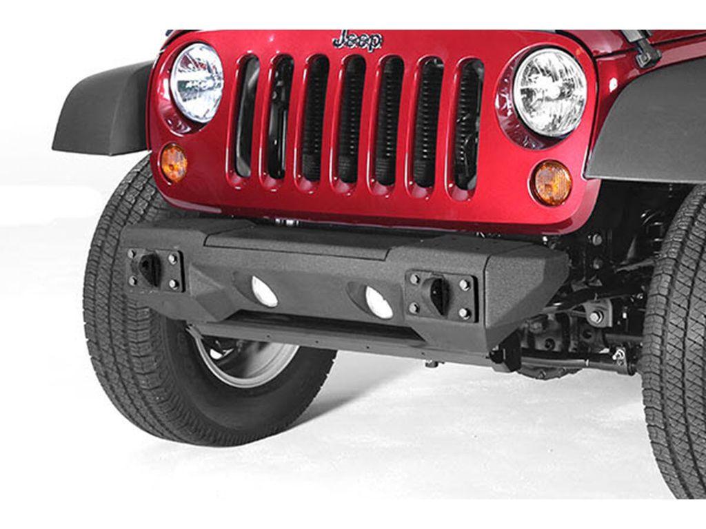 Rugged Ridge 11542.02 All Terrain Front Bumper For 2007- 2018 Jeep Wrangler
