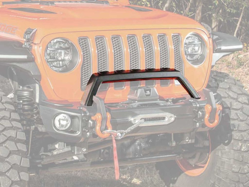 Rugged Ridge 11549.07 Arcus Stamped Steel Overrider Bar For 18-21 Jeep Wrangler