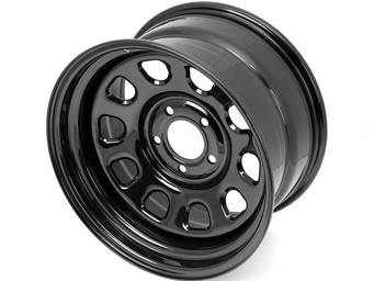Rugged Ridge Black D Window Wheels