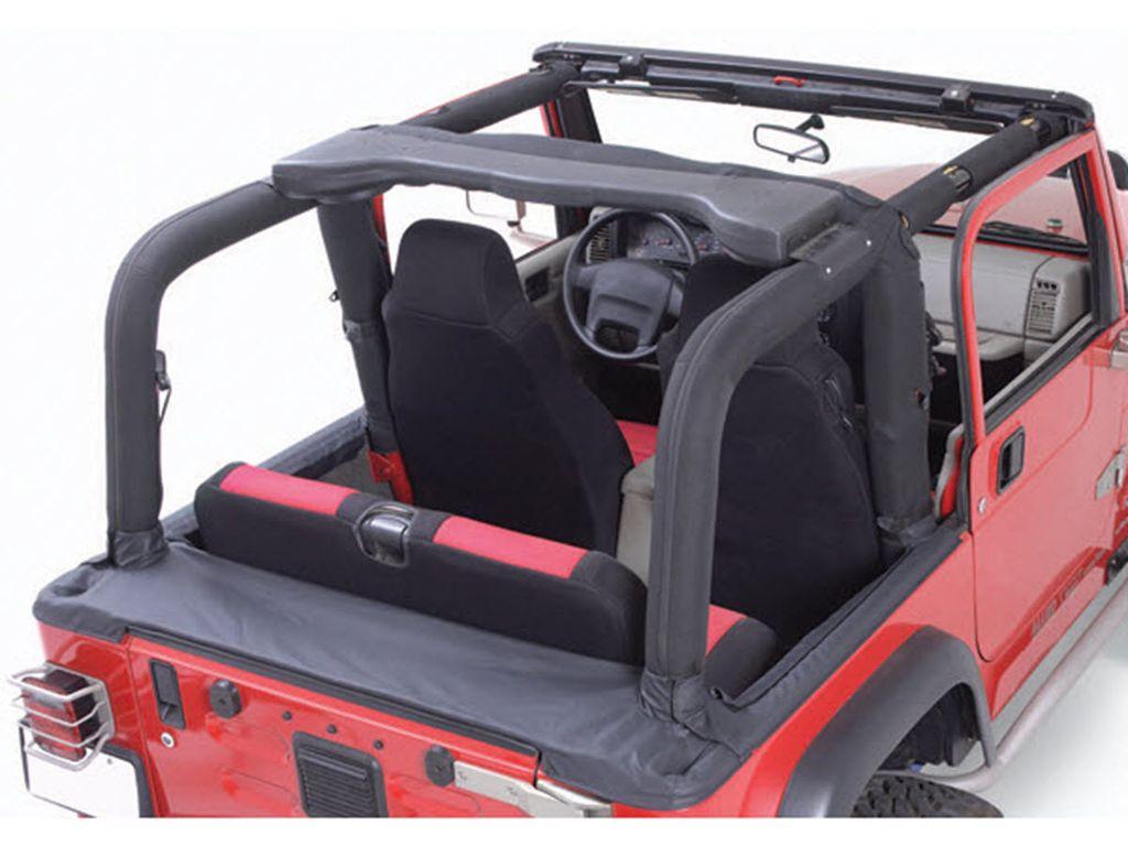Rugged Ridge 13613.06 Roll Bar Cover For 2007-2018 Jeep Wrangler JK 2-Door