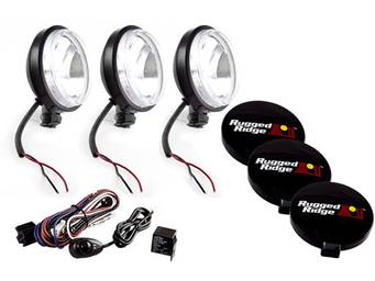 Rugged Ridge Round Off-Road Lights